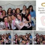 Jenny & Phil – Fancy dress wedding reception photobooth