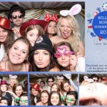 William Morris Summer Ball Photo booth