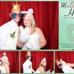 Mr & Mrs Hurt's wedding reception photo booth