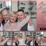 Andi & Ady's wedding reception photo booth