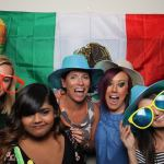 Slimming World's Summer Party photo booth