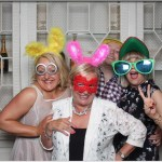 Brian & Clare wedding photo booth
