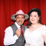 Lou & Kierans wedding reception photo booth