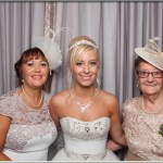 Sian and Craig's wedding photo booth