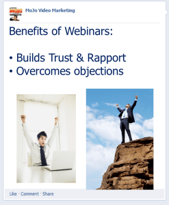 Benefits of Webinars
