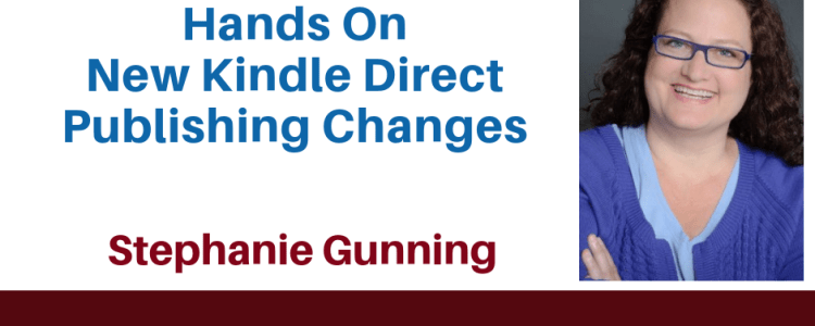kindle direct publishing training with Stephanie Gunning