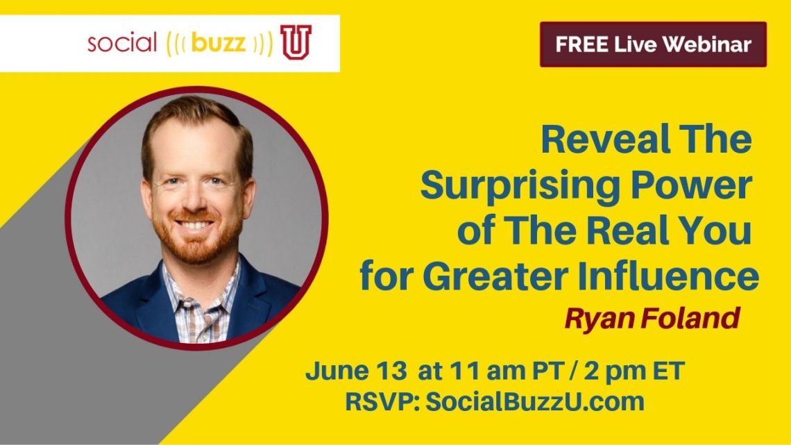 Ryan Foland marketing webinar