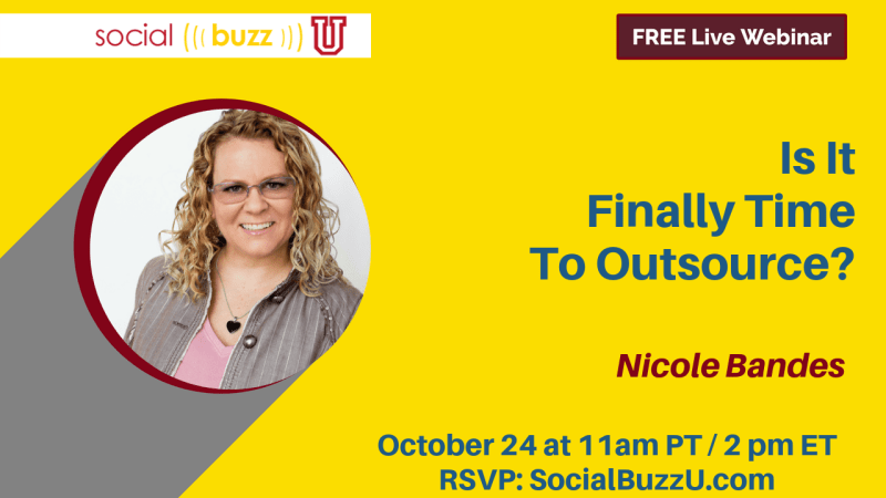 Nicole Bandes Is it Finally Time to Outsource