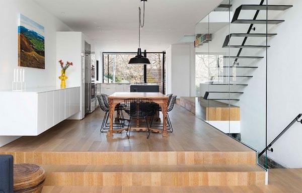 Pavimenti Per Cucina Trendy Consiglio Per Arredare Zona Cucina Soggiorno Con Pavimento Colorato
