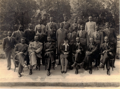 Pan-African Congress, Manchester, UK, 1945. The Pan-African congresses gathered figures from throughout Africa and the African Diaspora, but also attracted anticolonial activists from India.