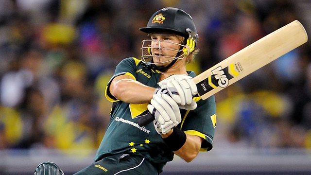 Top 4 Players between India vs. Australia WT20 match at Mohali - Shane Watson