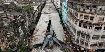 Bridge Collapse Kolkatta