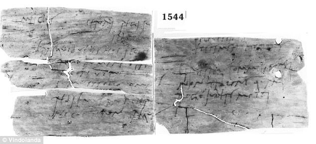 Letter written by Roman Soldier Masclus asking for a holiday