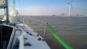 Anfahrt Emden Aussenhafen