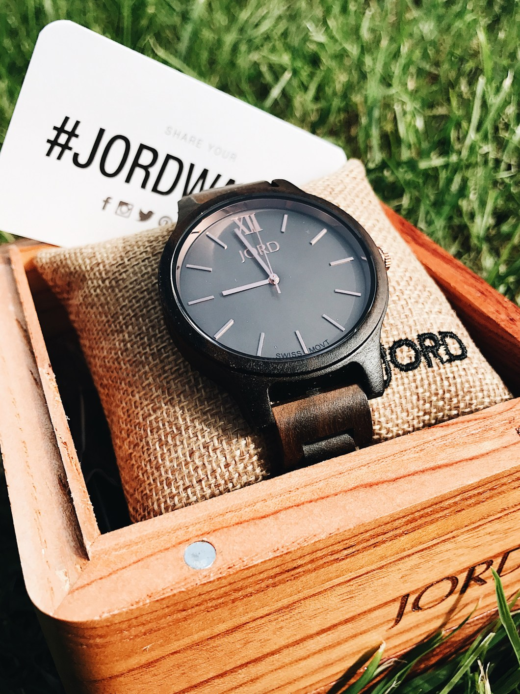 Wooden Watch, Jord wood watch, Jord Watches, men's watches, dad gifts, father's day gifts, cool men's watches