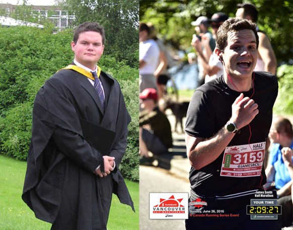 before and after, cico, fitness, dieting, socialdad, dad blog, james smith