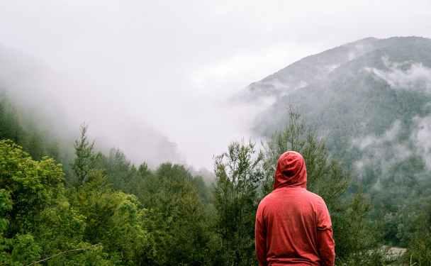 rain, smells, dad blog