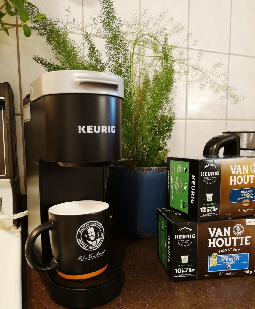 keurig coffee, k-cup, keurig mini, coffee maker, desktop coffee maker, single use coffee, recycle, recyclebc, are keurig pods recyclable?, giveaway, contest canada, win a keurig, win a keurig mini, father's day giveaway, contest, competitions, vancouver