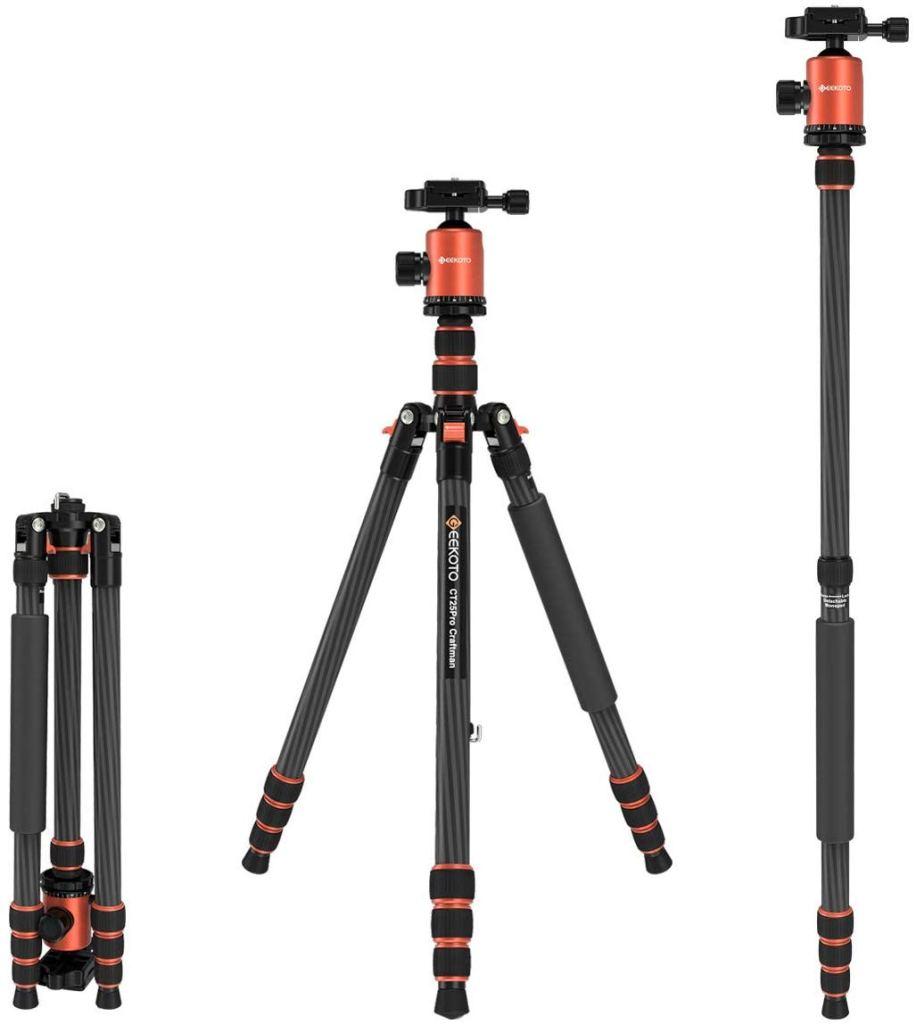 camera tripods, best tripods, lightweight tripod, camera gear for vloggers, best set up for vlogging, dad blog, influencer gear, equipment for influencers,