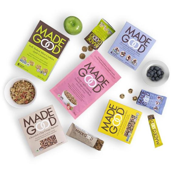 madegood food, made good bars, made good granola, back to school snacks, school-safe snacks,