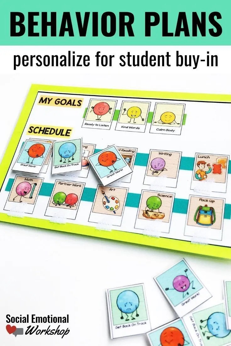 personalize student behavior plans to improve buy-in and motivation