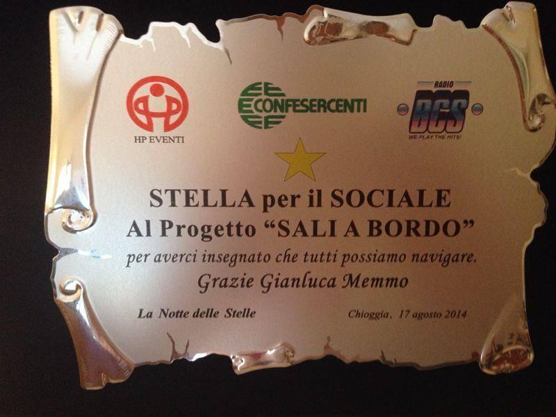 10401996 363006827235840 9199091580063722233 n Stella per il sociale al progetto Sali a Bordo