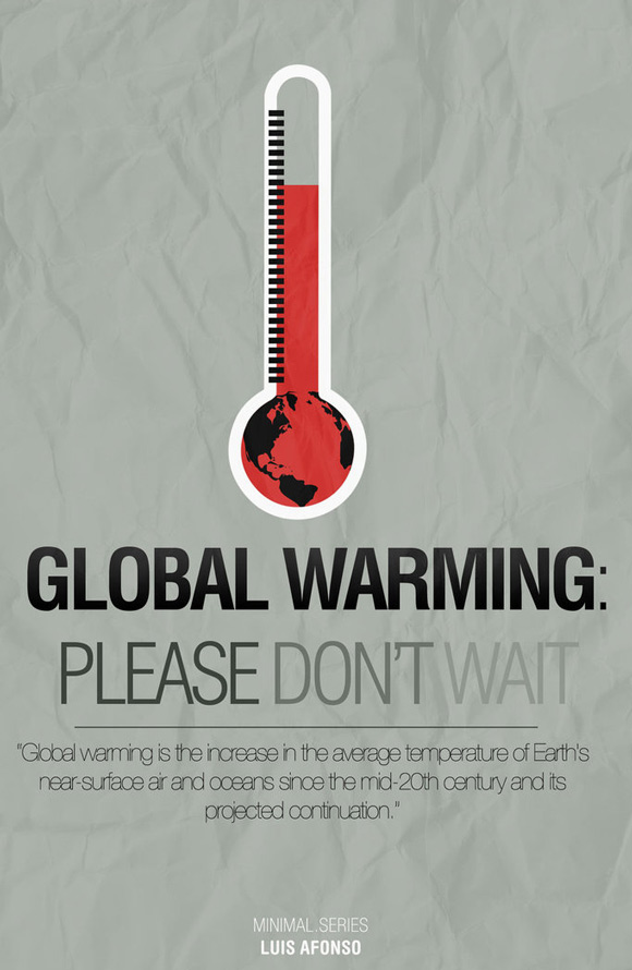 45 Amazing Global Warming Awareness Posters