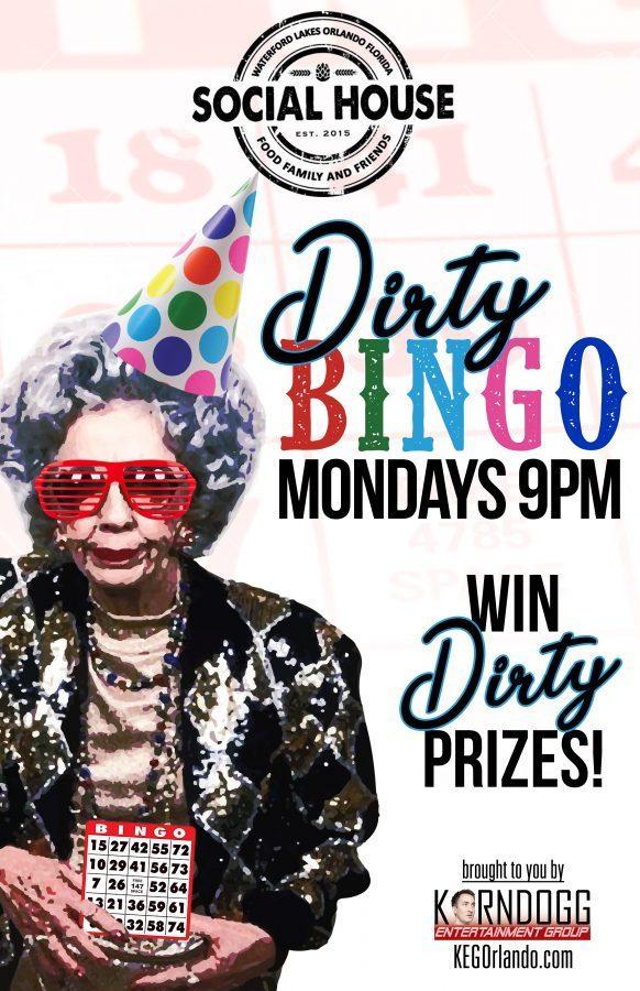 Dirty Bingo Mondays