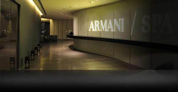 Photo Courtesy pf Armani Spa Dubai