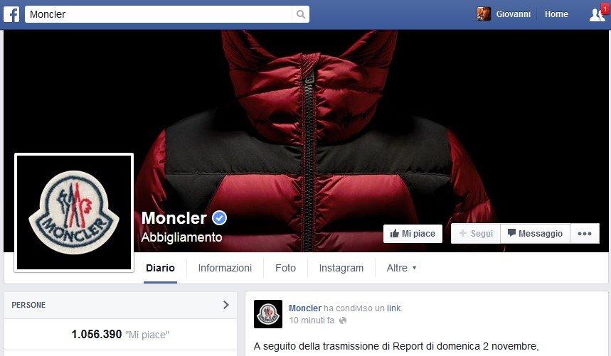 moncler facebook