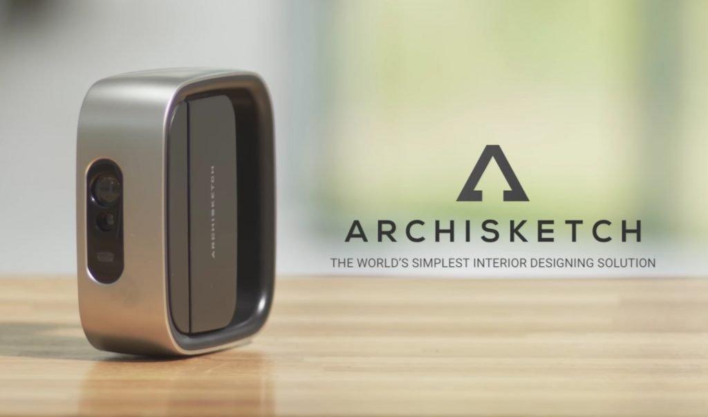Archisketch lo scanner 3d per progettare interni for Software per progettare interni