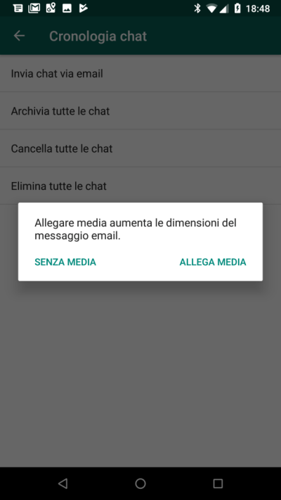 Come convertire una chat di whatsapp in un file di testo - Testo la finestra ...