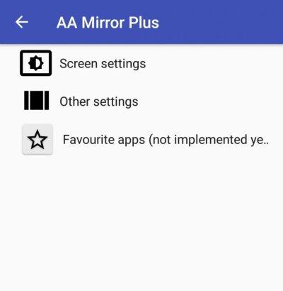 Android Auto - installare aa mirror 5