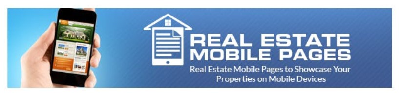 Real Estate Mobile Page Builder