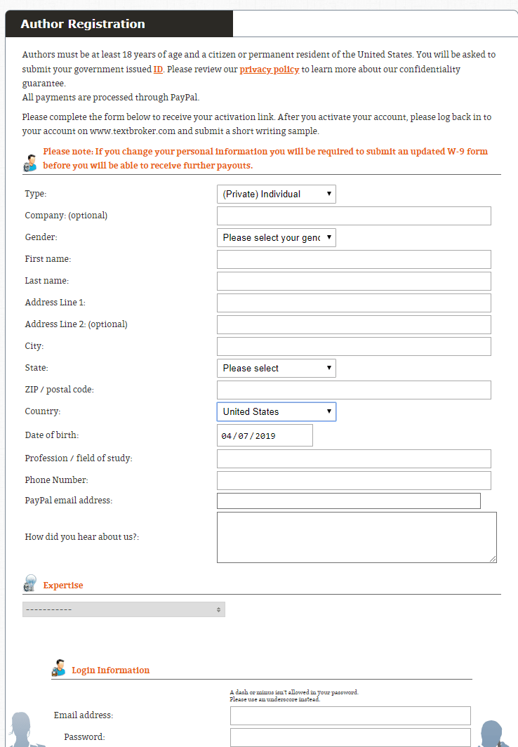 How To Join Textbroker As A Client