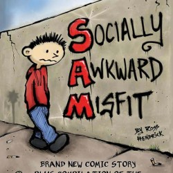 socially awkward misfit book