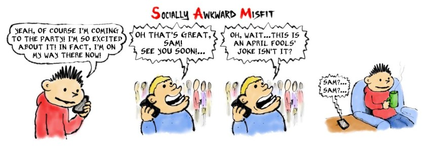 april fools introvert joke