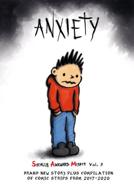 anxiety comic book socially awkward misfit