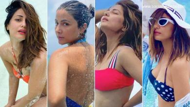 Hina Khan Birthday Special: TV Queen's Gorgeous Bikini Pics That Are Hotter Than Tropic!