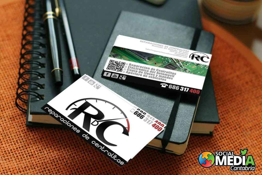Reparacion-de-centralitas---Diseno-tarjetas-de-visita-Social-Media-Cantabria