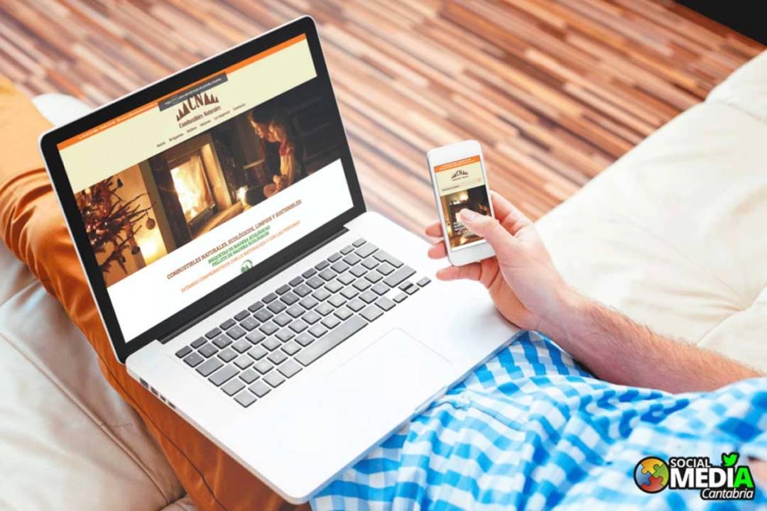 Landing-page-Pellets-y-Briquetas-Social-Media-Cantabria