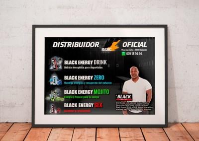 Diseños Black Energy Drink