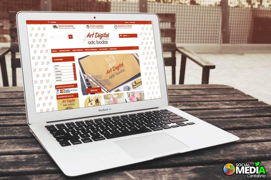 Tienda online ArtDigital creacion