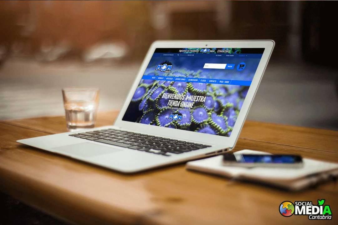 Tienda online MQMAqua totalmente responsive