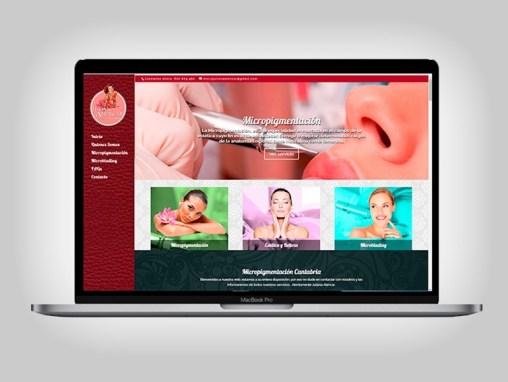 Web Micropigmentación