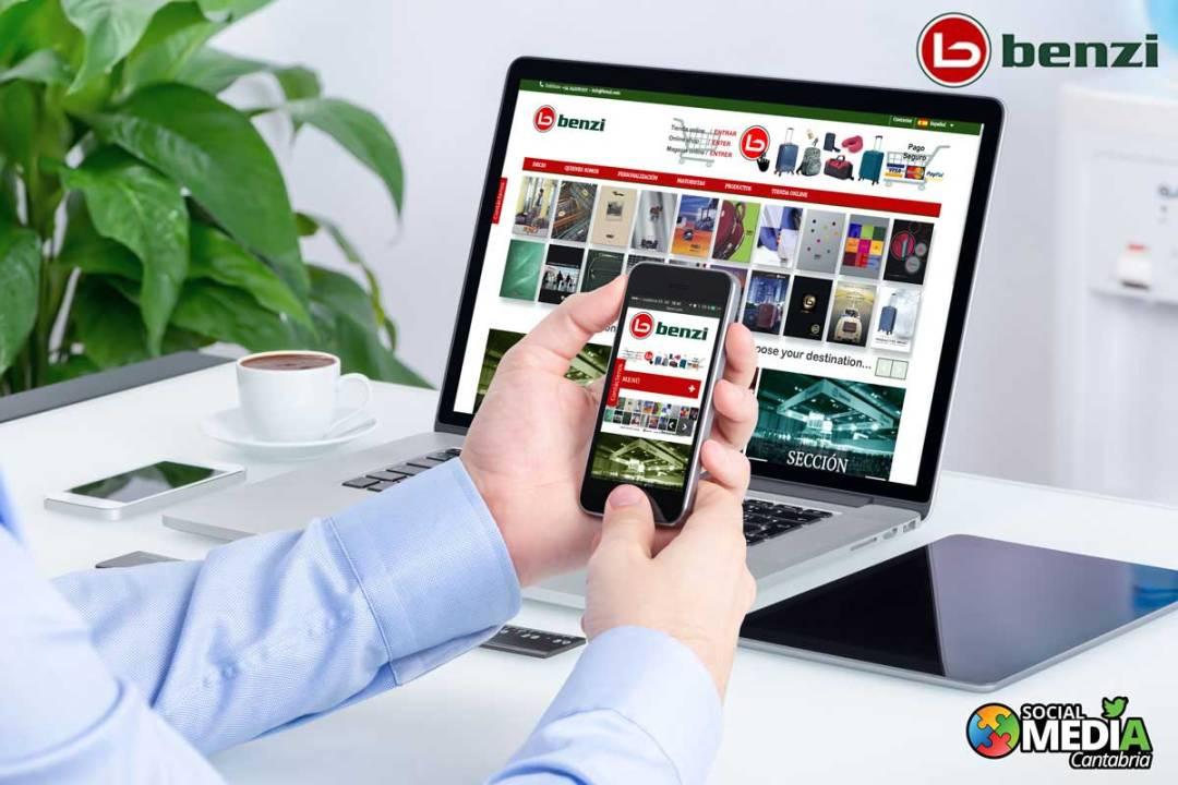 Diseño web Productos Benzi