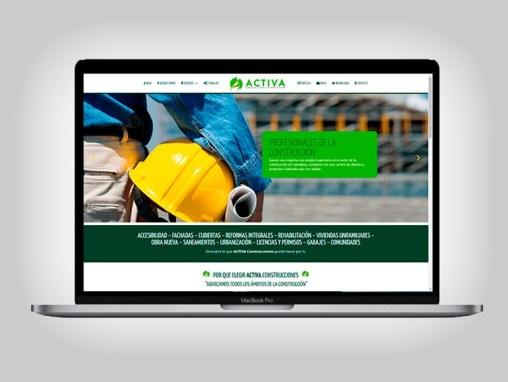 Web Activa Construcciones