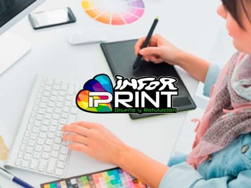 Diseño web Inforprint Santander