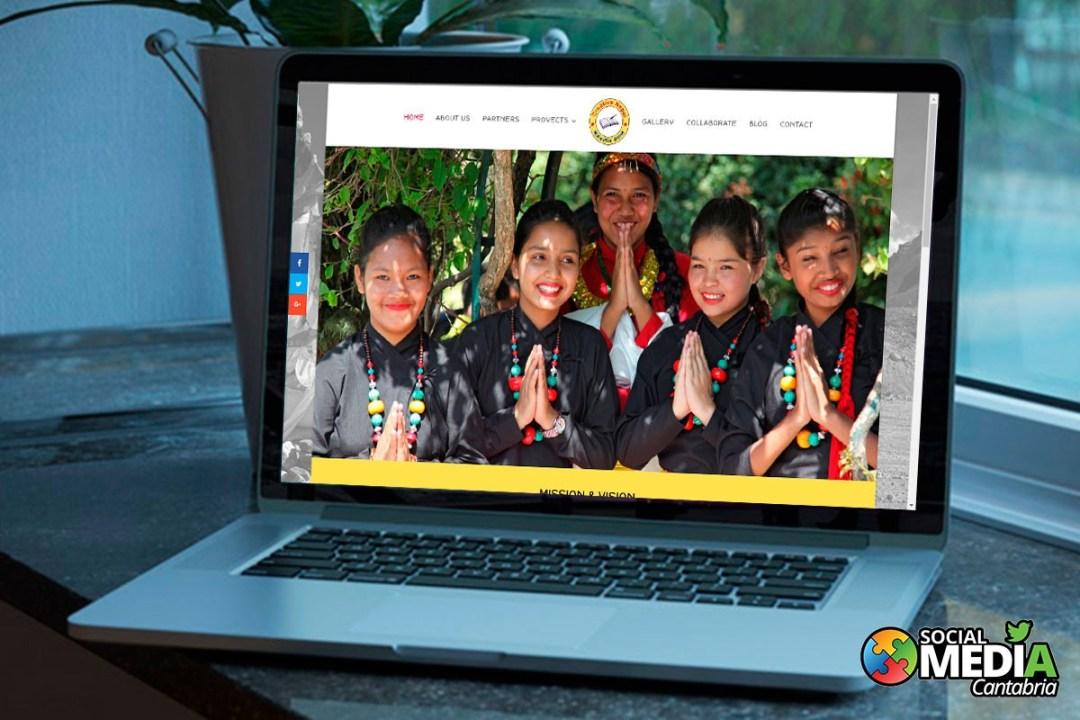 diseño web en cantabria creative nepal