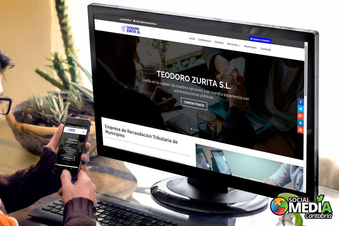 diseño web en cantabria teodoro zurita